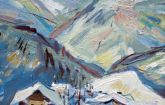 042-Winter in Ramsau(Alps)-oil-40x30